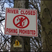 river-closed
